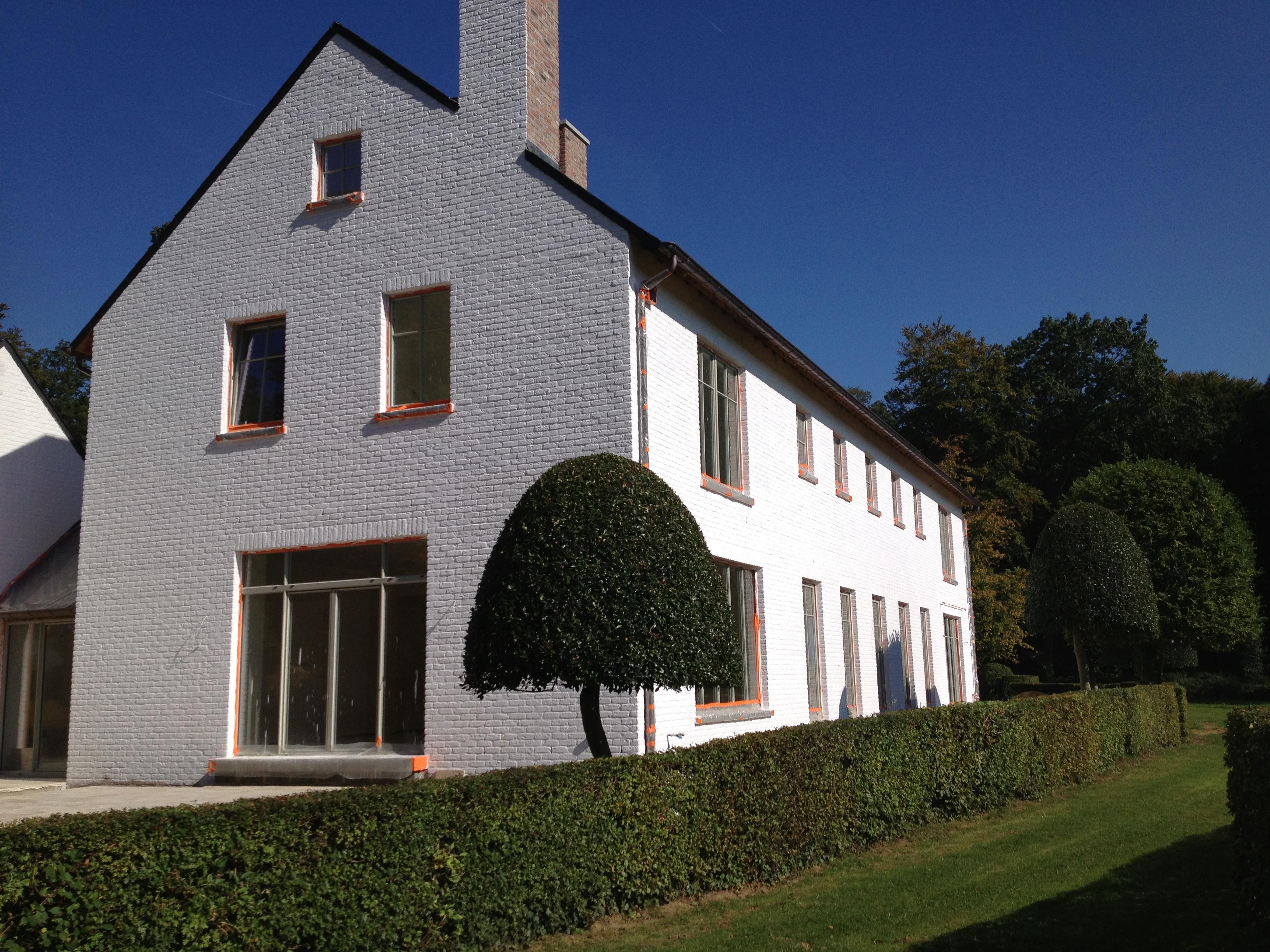 Rénovation complète et agrandissement d'une maison à Bousval