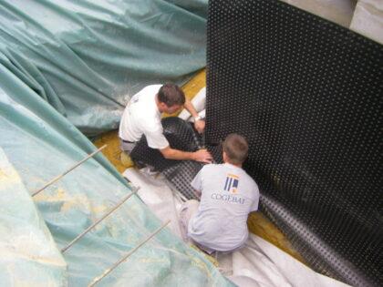 L'importance de l'étanchéité des murs enterrés
