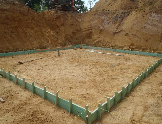 Terrassement et fondations for Terrassement et fondation