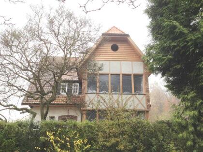 Auderghem, maison à colombage
