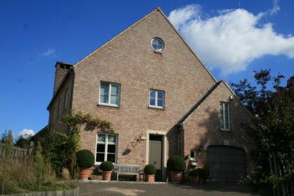 Maison neuve unifamiliale à Overijse, en Brabant flamand