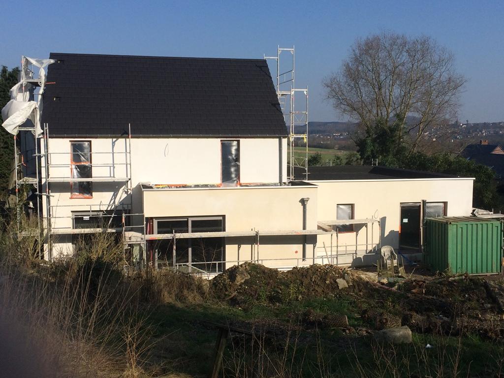 Hainaut r novation agrandissement d 39 une maison - Agrandissement d une maison ...